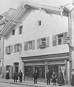 Wohn- und Geschäftshaus in der Tirolerstraße ca. 19. Jahrhundert (1890)